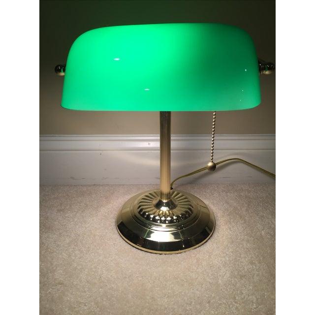 Retro Inspired Brass Desk Lamp - Image 2 of 7