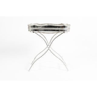 Mid-20th Century English Sheffield High Border Tray Table Preview