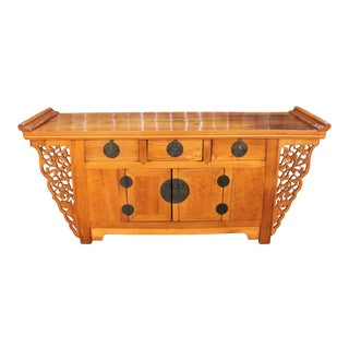 Chinese Style Credenza Cabinet For Sale