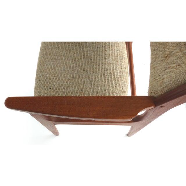 Mid-Century Modern Scandinavian Modern Teak Armchairs - a Pair For Sale - Image 3 of 13