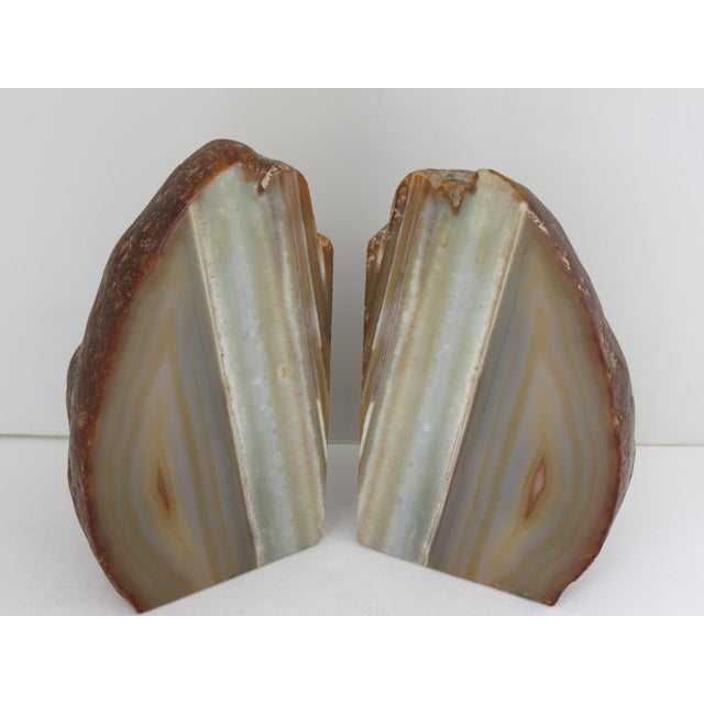Contemporary Natural Stone Bookends For Sale - Image 3 of 10