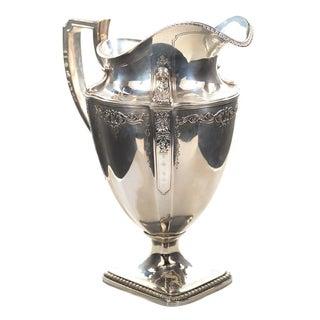 Gorham Antique Sterling Silver Pitcher For Sale