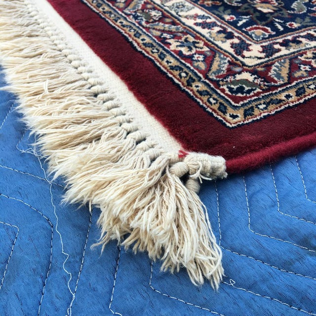 """Persian Floral Pattern Rug - 9'2"""" x 13'4"""" - Image 4 of 7"""