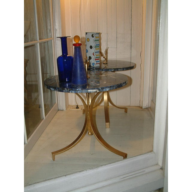 White 1998 United States Maurice Beane Studios Twig Leaf Tables - Pair For Sale - Image 8 of 9