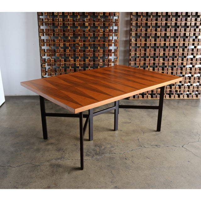 1960s Mid-Century Modern Milo Baughman Dining Table for Directional Furniture For Sale - Image 13 of 13