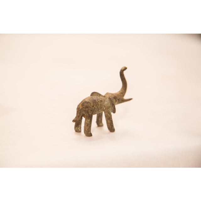 Vintage Oxidized Elephant Bronze Gold Weight For Sale In New York - Image 6 of 6
