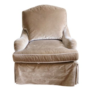 Baker Furniture English Arm Chair For Sale