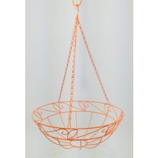 Orange Wire Hanging Fruit Basket Preview