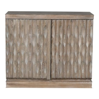 Vanguard Furniture Foresthill Hall Chest In Raked Gray For Sale