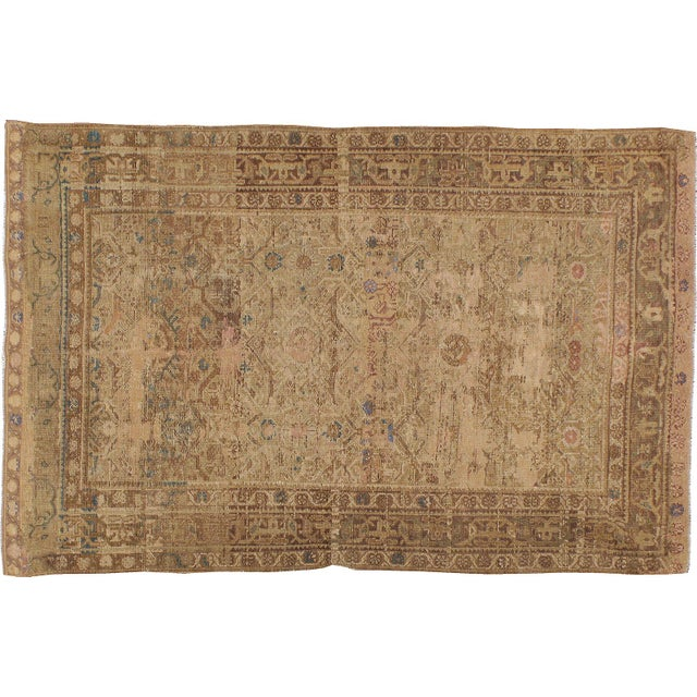 Antique Persian Malayer Rug - 4′1″ × 6′4″ - Image 1 of 3