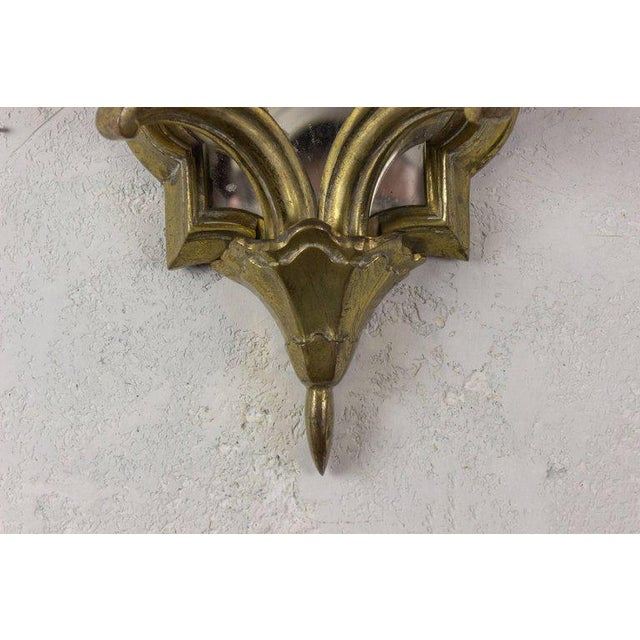 Pair of French Gilt Bronze Sconces For Sale In New York - Image 6 of 10