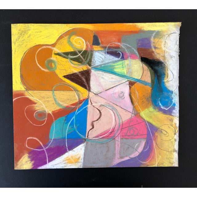 Abstraction No.107 Original Pastel by Erik Sulander 14x12 For Sale In New York - Image 6 of 6
