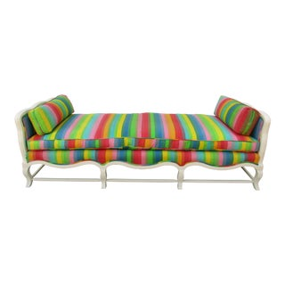 20th Century French Three Seat Bench For Sale