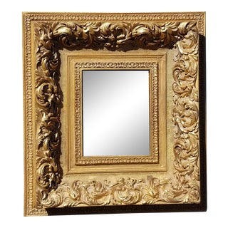 Vintage French Provincial Gold Ornate Rococo Picture Frame #3 For Sale