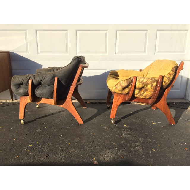 Sculptural Mid-Century Claw Chairs - A Pair - Image 3 of 10