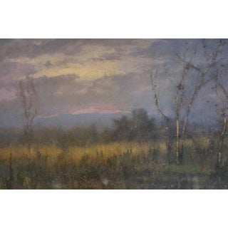 "Chris Burkholder ""Near Pennington"" Acrylic Painting For Sale"