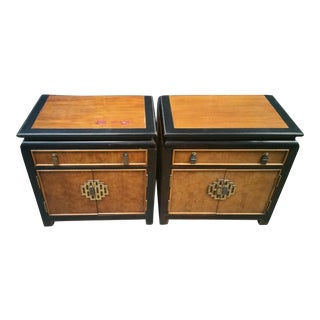 1950s Vintage Century Furniture Chin Hua Nightstands - a Pair For Sale