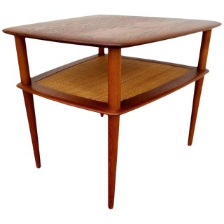 Teak End Table by Peter Hvidt