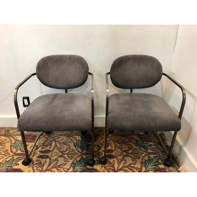1970s Vintage Institute of America Chairs- A Pair For Sale - Image 13 of 13