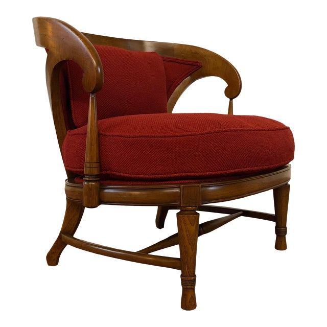 Tomlinson Sophisticate Vintage Occasional Chair For Sale