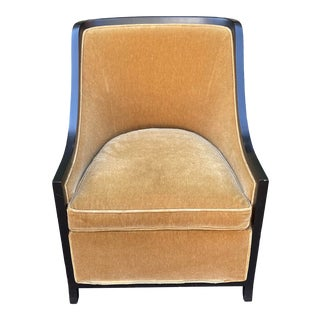Magni Home Collection Astair Mohair Club or Lounge Chair For Sale