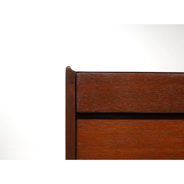 Dunbar Furniture Early Pair of Louver Front Dressers by Edward Wormley For Sale - Image 4 of 5