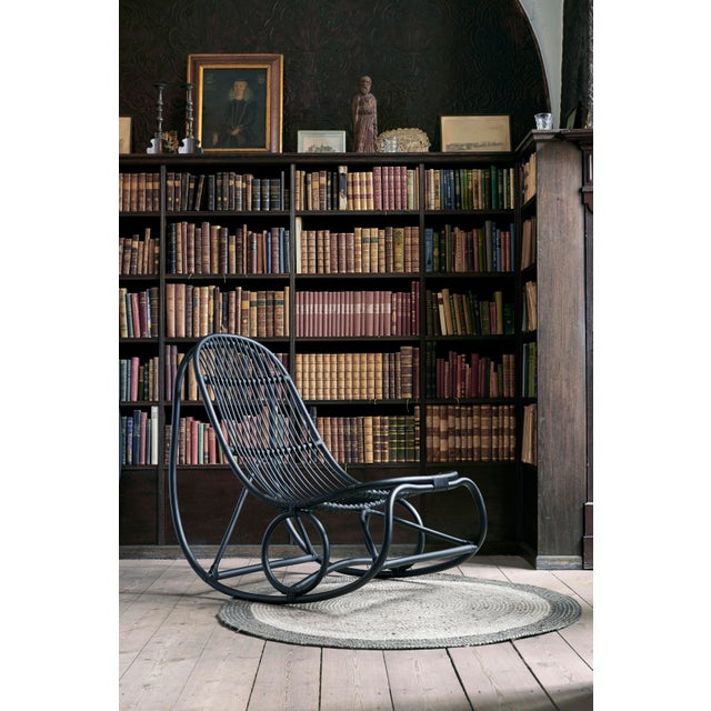 Not Yet Made - Made To Order Nanna Ditzel Nanny Rocking Chair - Black For Sale - Image 5 of 6