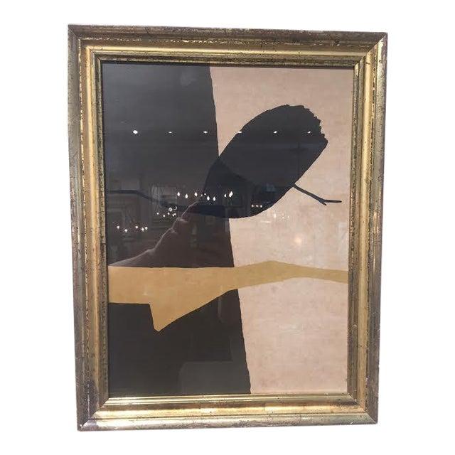 "Vintage Art 'Israel"" in Antique Frame by Michael Gross For Sale"