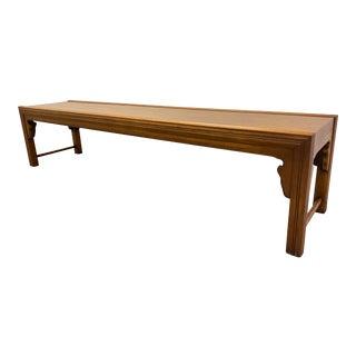 Mid 20th Century John Widdicomb Bench For Sale