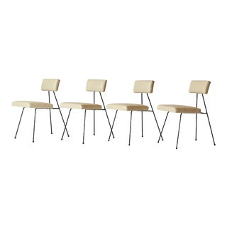 Rare Set of Adrian Pearsall Dining Chairs For Sale