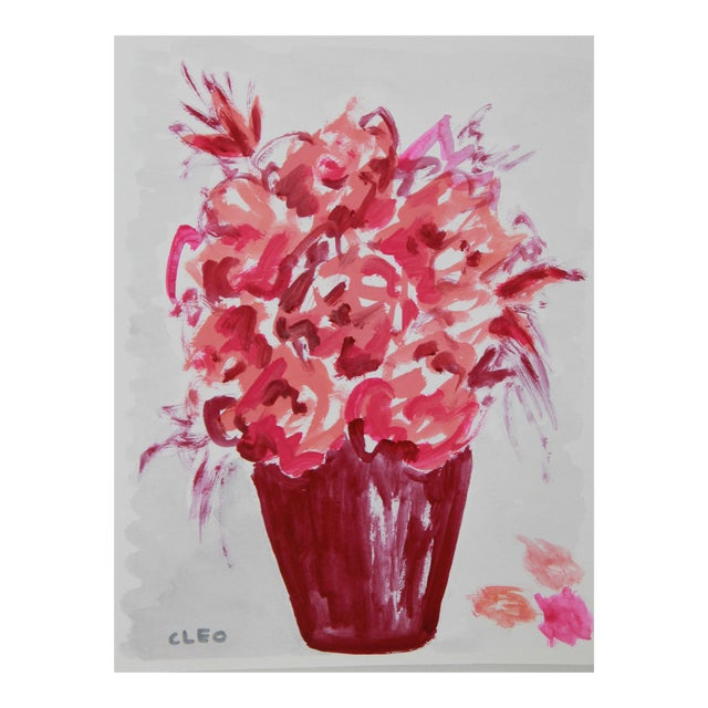 Abstract Floral Bouquet by Cleo For Sale