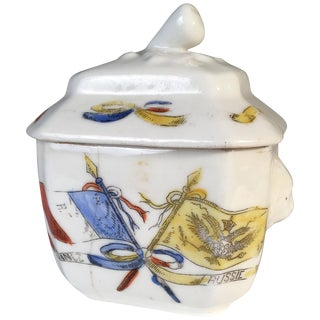 Franco-Prussian War Commemorative Sugar Bowl For Sale