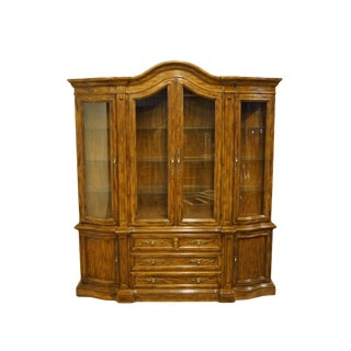 Drexel Heritage Grand Villa Collection Italian Provincial China Cabinet For Sale