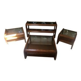 Modern Comfort Tables Designed by Lou Hodges for Mersman - Set of 4 For Sale