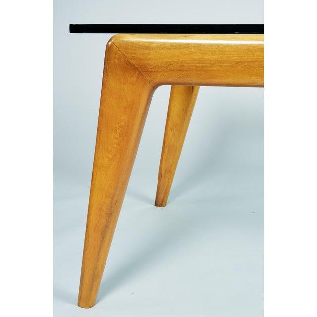 1950s Mid-Century Modern Pierluigi Giordani Biomorphic Dining Table For Sale - Image 12 of 13