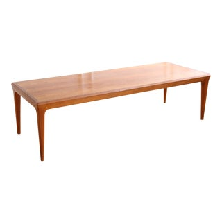 Mid-Century Danish Teak Coffee Table For Sale