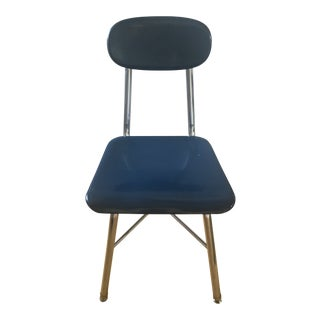 Vintage Stacking Chairs. 95 Available. Cobalt Blue. $50 For Sale