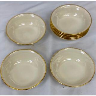 Vintage Lenox Mansfield Salad / Dessert Bowls - Set of 8 Preview