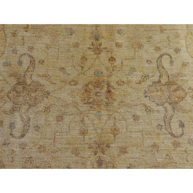 Hand Knotted Pakistan Rug - 8'x 8' For Sale In Los Angeles - Image 6 of 10