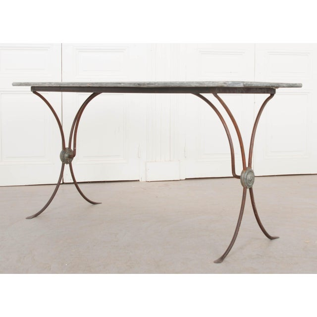 Late 19th Century French 19th Century Art Nouveau Bistro Table For Sale - Image 5 of 10