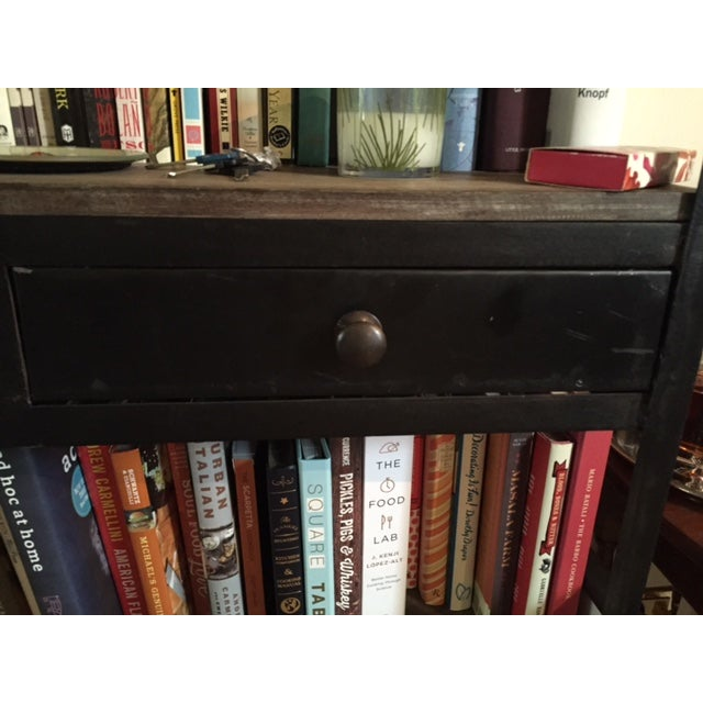 Anthropologie Decker Tall 5-Shelf Bookcase For Sale - Image 5 of 5