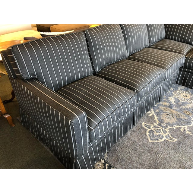 New Custom Jasper Sectional by California Sofa For Sale - Image 4 of 13