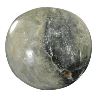 Green Marble Sphere Object For Sale