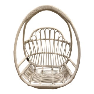 Modern White Hanging Chair For Sale