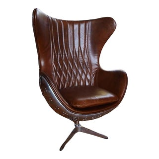 Aviator Tomcat Egg Armchair For Sale