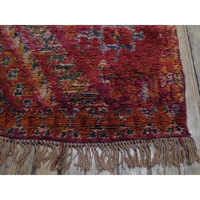 Beni Mguild Moroccan Berber Carpet For Sale - Image 9 of 10