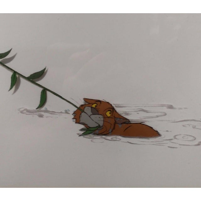 Disney original Animation Drawing Cell -O'Malley & Amelia - The Aristocats 1970 For Sale - Image 5 of 9