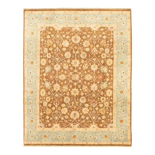 """Classic Hand-Knotted Rug, 8'0"""" X 10'2"""" For Sale"""