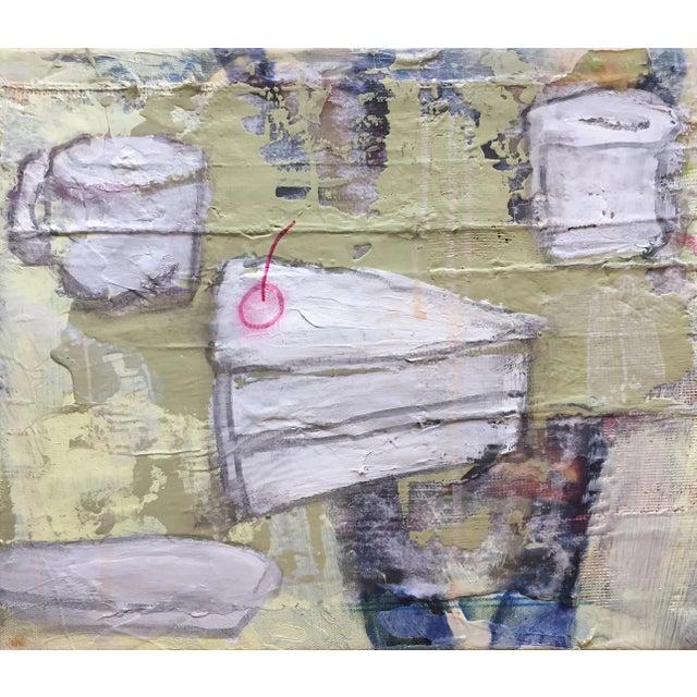 """Christine Bush Roman """"Piece of Cake"""" Painting - Image 3 of 5"""
