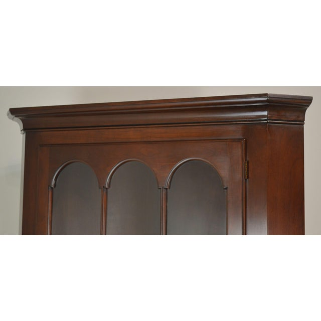 Statton Old Towne Cherry Traditional Corner Cabinet For Sale In Philadelphia - Image 6 of 12